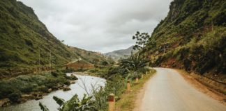 Vietnam Ha Giang Loop Route Fluss